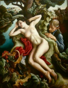 Persephone - Thomas Hart Benton