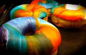 crack donuts
